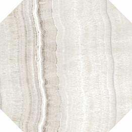 Lattialaatta Pukkila Rock Symphony Art Greige 8-kulmainen kiiltävä sileä 594x594 mm