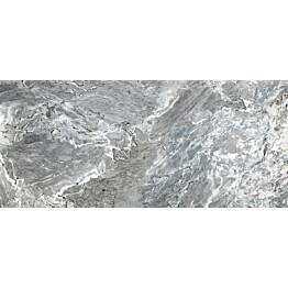 Lattialaatta Pukkila Rock Symphony Blues Siniharmaa kiiltävä sileä 1785x785 mm