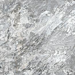 Lattialaatta Pukkila Rock Symphony Blues Siniharmaa kiiltävä sileä 594x594 mm