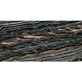 Lattialaatta Pukkila Rock Symphony Glam Musta kiiltävä sileä 1190x594 mm