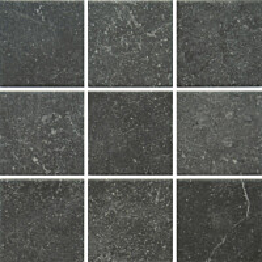 Lattialaatta Pukkila Piazen Coal himmea silea 97x97mm