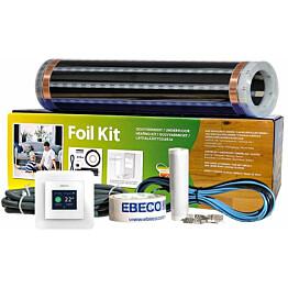 Lattialämmityskalvopaketti Ebeco Foil Kit 400, 40 cm lämmitysleveys, 65 W/m², 6m²