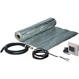 Lattialämmityspaketti Uponor Comfort E Dry 140-8 1120 W termostaatilla