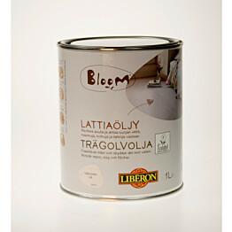 Lattiaöljy Liberon Bloom 1 l valkoinen (066956)