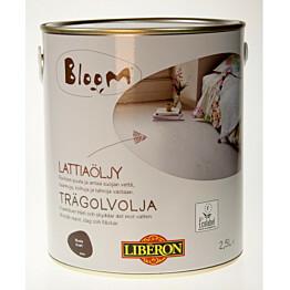 Lattiaöljy Liberon Bloom 2,5 l musta (066953)