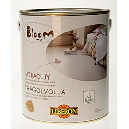 Lattiaöljy Liberon Bloom 2,5 l vaaleanruskea (066951)