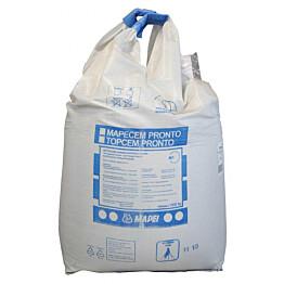 Lattiavalumassa Topcem Pronto raekoko 0-4 mm 1000 kg
