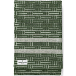 Laudeliina Finlayson Tamminiemi 50x160 cm vihreä/pellava