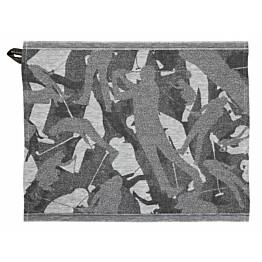 Laudeliina Jokipiin Pellava Swing 45x55 cm valkoinen/musta