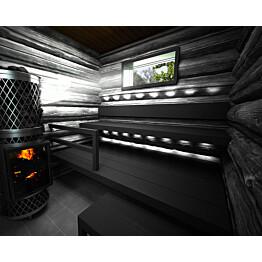 Laudepaketti Sun Sauna Log 1701-2500mm kuusi