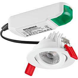 LED-alasvalo Lumiance Instar Pro 12 W 4000 K 800 lm 36 valkoinen