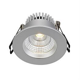 LED-alasvalo Markslöjd Ares IP44 hopea