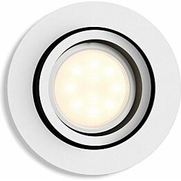 LED-alasvalo Philips Hue Milliskin 5.5W halk90mm valkoinen