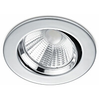 LED-alasvalo Trio Pamir ø85x54 mm IP23 kromi