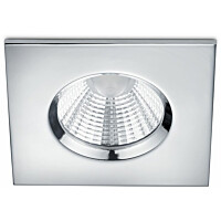 LED-alasvalo Trio Zagros 85x54x85 mm IP65 kromi