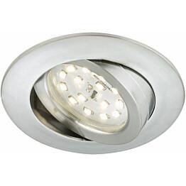 LED-alasvalo Briloner himmennettävä 5,5W IP23 alumiini