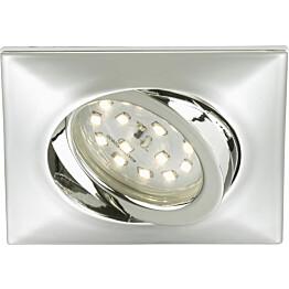 LED-alasvalo Briloner kohdistettava 5W kromi