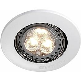 LED-alasvalo Nordlux Mixit Pro ø 8,5 cm GU10 valkoinen