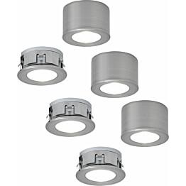 LED-alasvalosetti Limente LED-Faro 3x2.2W 24V