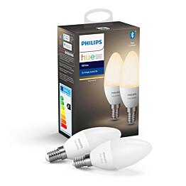 LED-älylamppu Philips Hue W 5.5W E14 2kpl/pkt
