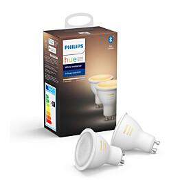 LED-älylamppu Philips Hue WA 6W GU10 2kpl/pkt