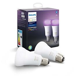 LED-älylamppu Philips Hue WCA 9W E27 A60 2kpl/pkt