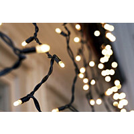 LED-jääpuikkonauha Markslöjd Chrissline Extra IP44 100 valoa