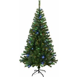 LED-joulukuusi Star Trading Kalix 195 cm RGB vihreä