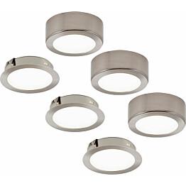 LED-kalustevalaisinsetti Limente LED-Leno 51 3x4.2 W rst