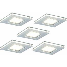 LED-kalustevalaisinsetti Limente LED-Vita 10 5x4.2W 24V