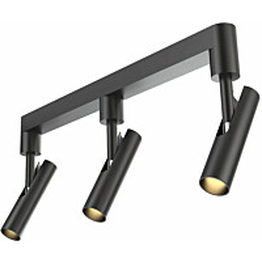 LED-kattospotti Nordlux MIB 3 musta
