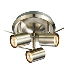 LED-kattovalaisin Markslöjd Hyssna 3-osainen teräs