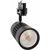 LED-kiskovalaisin FTLight, 15W, 1230lm, 3000K, musta