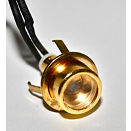 LED-kohdevalo saunavalosarjaan FTLight, 1 kpl, lämmin valkoinen, messinki