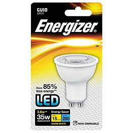 LED-kohdelamppu Energizer GU10 3,6 W kirkas