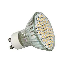 LED-kohdelamppu Sunwind GU10, MR16, 48 SMD 3W 12V Ø50mm 180lm 2700K