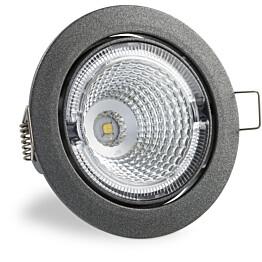 LED-kohdevalaisin Universal Design Spot S100 4,5W 40° 3000K tummanharmaa/oranssi sisä
