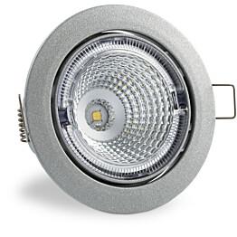 LED-kohdevalaisin Universal Design Spot S102 9W 40° 4000K vaaleanharmaa/sininen sisä
