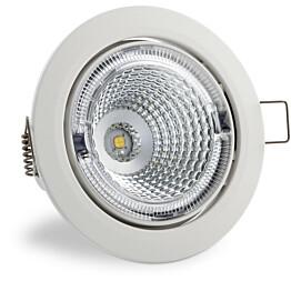 LED-kohdevalaisin Universal Design Spot S102 9W 40° 4000K valkoinen/oranssi sisä