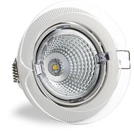 LED-kohdevalaisin Universal Design Spot S100 4,5W 40° 3000K valkoinen/oranssi ulko