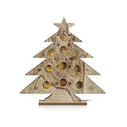 LED-koristepuu Markslöjd Hadar 40x5x40 cm 15 valoa puu luonnollinen ruskea