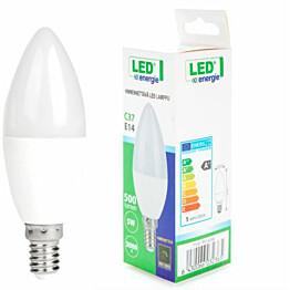 LED-kynttilälamppu LED Energie E14 5 W 500lm 3000K 37x100 mm himmennettävä