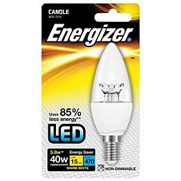 LED-lamppu Energizer Candle E14 5,9 W kirkas