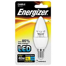 LED-lamppu Energizer Candle E14 6,2 W kirkas himmennettävä