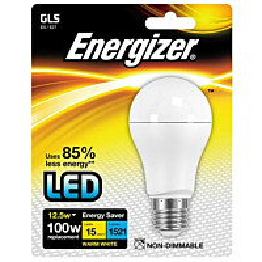LED-lamppu Energizer GLS E27 12,5 W valkoinen