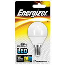LED-lamppu Energizer Golf E14 3,4 W valkoinen