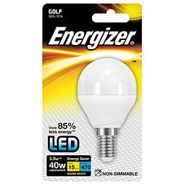 LED-lamppu Energizer Golf E14 5,9 W valkoinen