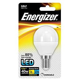 LED-lamppu Energizer Golf E14 6,2 W valkoinen himmennettävä