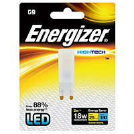 LED-lamppu Energizer High Tech G9 2 W valkoinen