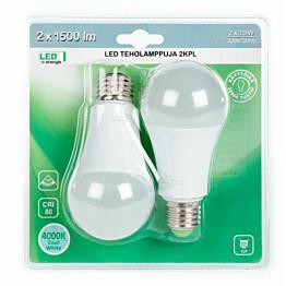 LED-lamppu LED Energie Teho 15 W 4000K 1500lm 124x60 mm 2 kpl/pkt
